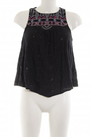 Hollister Halter Top graphic pattern casual look