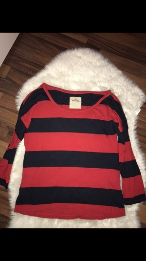 Hollister Long Sweater red-blue