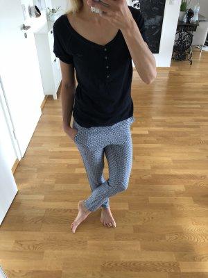Hollister Oberteil t-shirtblau Mode Blogger Fashion xs s 34 36
