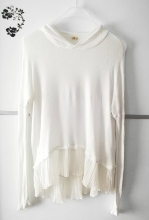 Hollister Sweater natural white