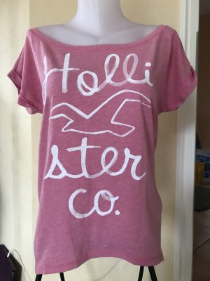 Hollister Oversized Shirt pink