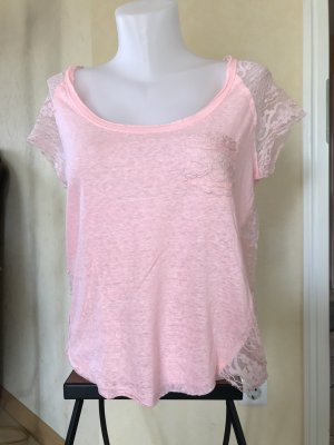 Hollister Oversized shirt roze