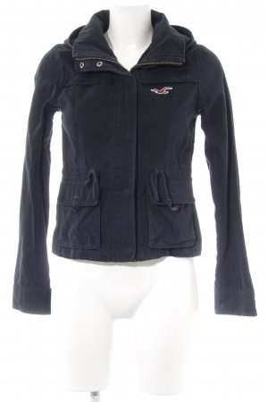 Hollister Parka donkerblauw casual uitstraling