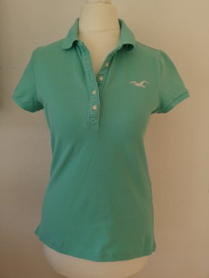 Polo turquoise-vert menthe