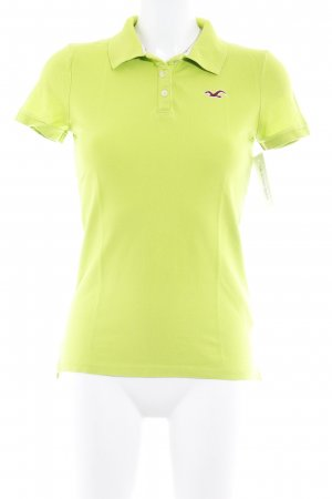 Hollister Polo Shirt meadow green athletic style