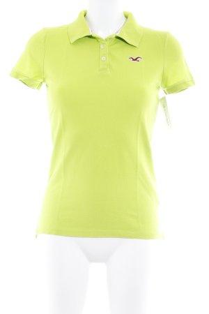 Hollister Polo-Shirt wiesengrün sportlicher Stil