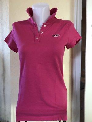 Hollister Polo T-Shirt Pink Gr L