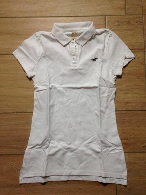 Hollister Poloshirt Größe M weiß