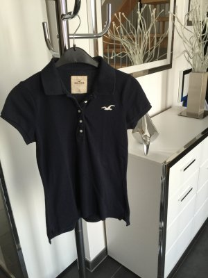 Hollister Poloshirt in dunkelblau