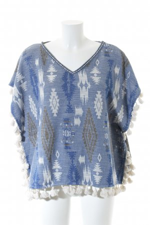 Hollister Poncho abstract patroon casual uitstraling