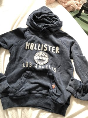Hollister Maglione con cappuccio blu scuro