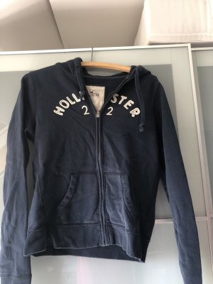 Hollister Capuchon sweater donkerblauw