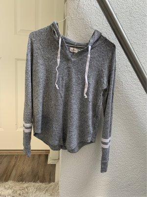 Hollister Maglione con cappuccio grigio-grigio chiaro