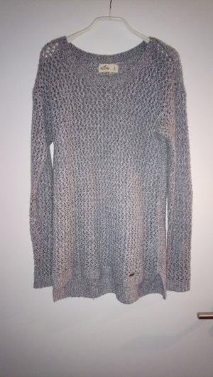 Hollister Pull tricoté gris