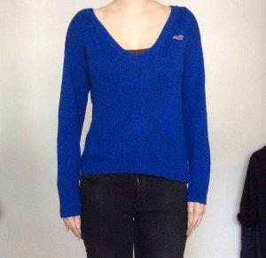 Hollister Pullover blau Größe S