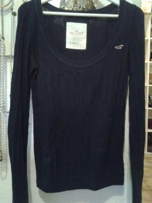 Hollister Pullover dunkelblau Gr. L