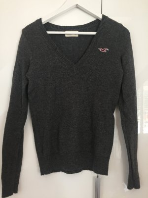 Hollister Pullover grau S