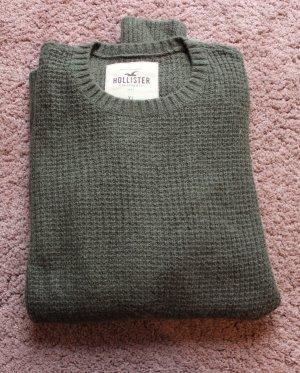 Hollister Pullover in oliv