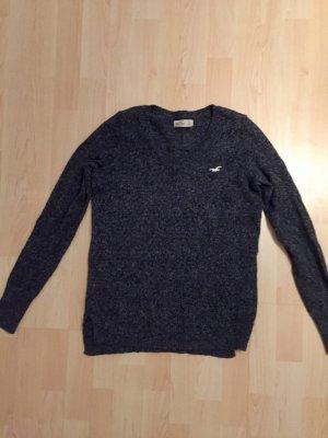 Hollister Pullover V-Ausschnitt dunkelgrau
