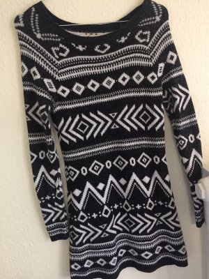 Hollister Pullover Wollpullover Gr.XS 34 36 Top Norweger