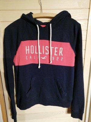 Hollister Pull à capuche rose-bleu foncé