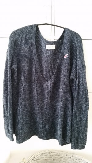 Hollister Pullover XS/S blau