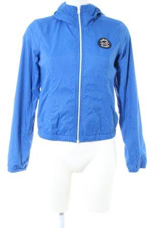 Hollister Regenjacke blau Casual-Look