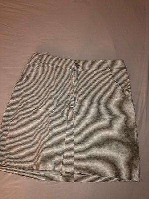 Hollister Denim Skirt azure-natural white