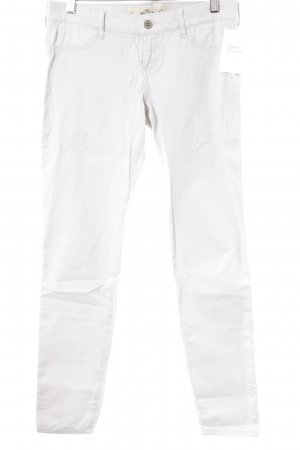 Hollister Drainpipe Trousers light grey casual look