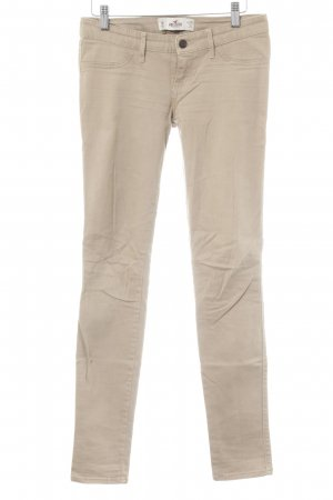 Hollister Tube jeans beige casual uitstraling