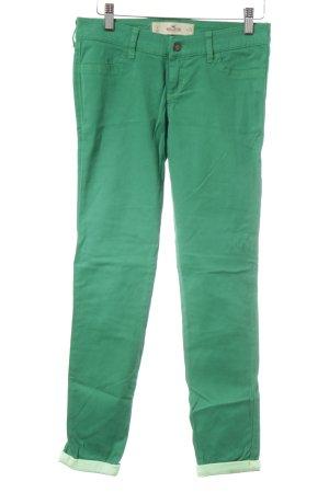 Hollister Jeans cigarette vert-vert pâle style décontracté