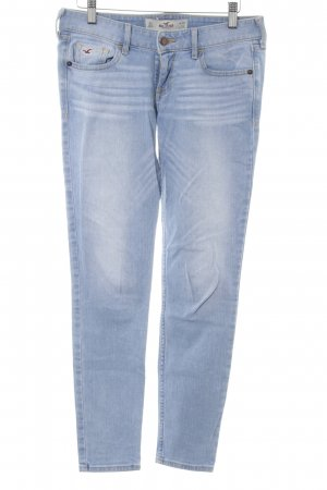 Hollister Tube Jeans azure casual look
