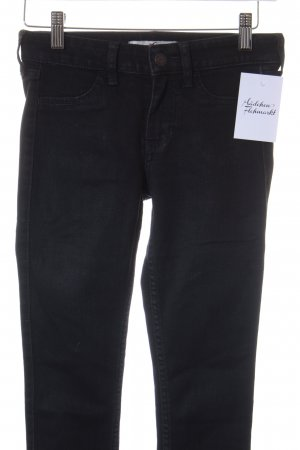 Hollister Röhrenjeans schwarz Casual-Look
