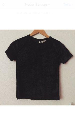 Hollister Samt Tshirt