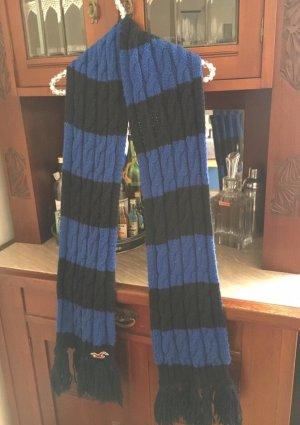 Hollister Gebreide sjaal blauw-donkerblauw