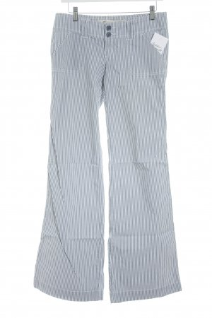 Hollister Flares slate-gray-white striped pattern sailor style