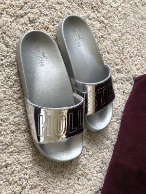 Hollister Sandalo outdoor argento