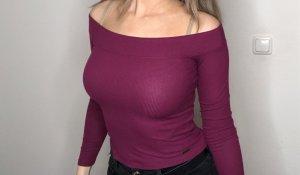 Hollister Hauts épaule nues violet