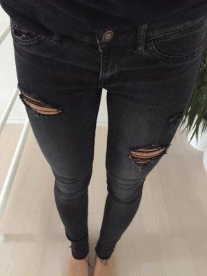 Hollister schwarze Jeans 36 3R