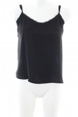 Hollister Silk Top black casual look