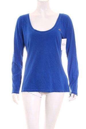 Hollister Shirt blau Casual-Look