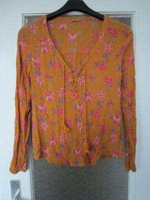Hollister Shirt Bluse floral Blumenmuster boho Gr. S NEU
