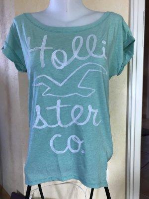 Hollister Shirt Gr M Türkis