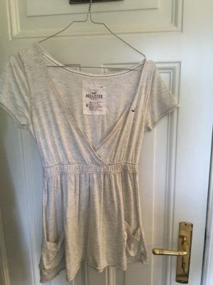 Hollister Top taille empire beige clair