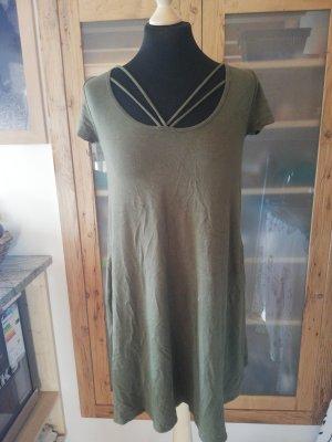 Hollister shirt Kleid Sommerkleid Shirt boho hippie festival