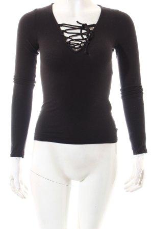 Hollister Shirt schwarz Casual-Look