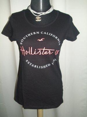Hollister Shirt schwarz Größe M Neu