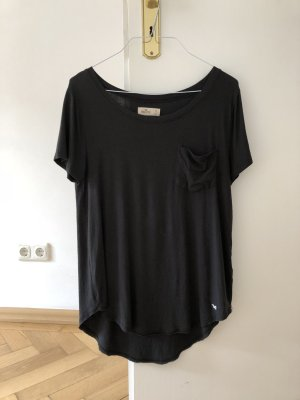 Hollister Shirt schwarz S 36 T-Shirt