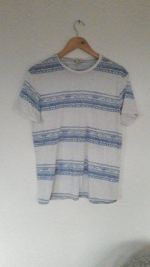 Hollister Shirt T-Shirt Ikat Hippie Boho Festival M