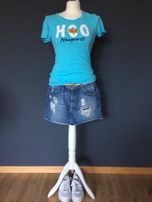 Hollister Shirt T-Shirt Türkis